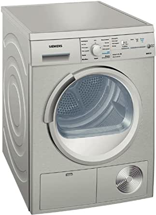 Siemens WT46E3X1FF Autonome Charge avant 8kg B Gris - sèche-linge (Autonome, Charge avant, Condensation, Gris, boutons, Rotatif, Gauche)