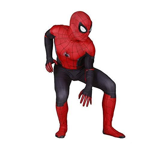 ZHANGQI Unisex Lycra Spandex Halloween Pretend Party Cosplay Kostüme Anzug Erwachsene/Kinder 3D Style,Height:130-140cm