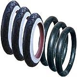 3x PHIL and TEDS CLASSIC 12,5x 12,5x 1,75x 21/10,2cm intérieur et pneus tubes