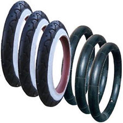 3x PHIL and TEDS DASH 12,5x 12,5x 1,75x 21/10,2cm pneus et intérieur de tubes pour roues