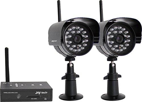 Jaytech D808S2 Überwachungskamera Set schwarz