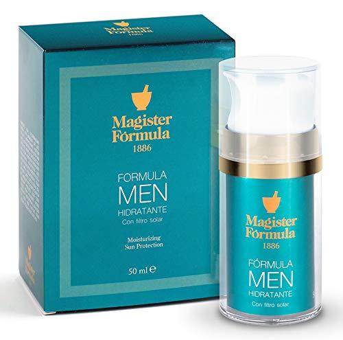 Crema Hidratante Facial Hombre 50 ml | Antiarrugas, Antiedad y Antimanchas | Con Protección Solar SPF | Aftershave…