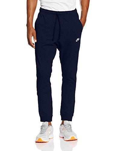 Nike M Nsw Cf Jsy Club, Pantalone da Allenamento Uomo, Blu (Obsidian/Bianco), M