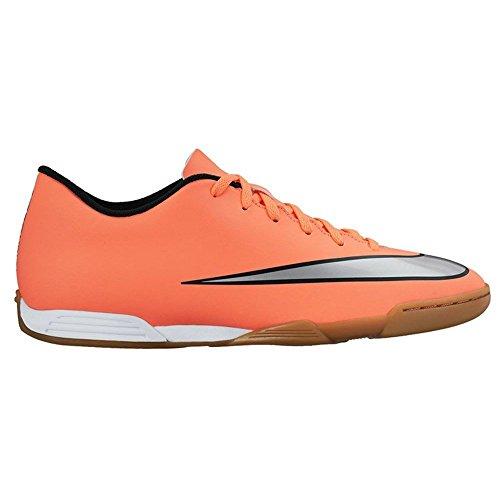 Nike Mercurial Vortex II Ic, Scarpe sportive, Uomo Multicolore (Amarillo / Plateado / Verde (Brght Mng / Mtllc Slvr-Hypr Trq))