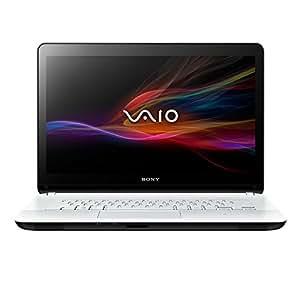 Sony VAIO SVF1521A1EW 39,5 cm (15,5 Zoll) Notebook (Intel Pentium 987, 1,5GHz, 4GB RAM, 500GB HDD, Intel HD, DVD, Win 8) weiß
