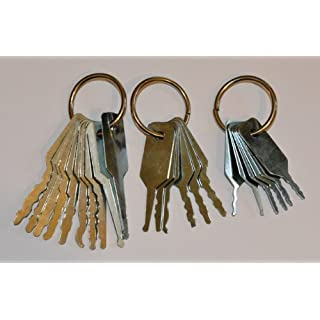 Lock Jiggler keys - 3 piece set.