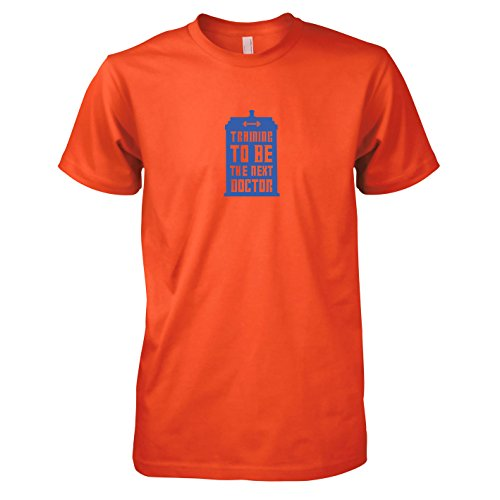 TEXLAB - Training to be the next Doctor - Herren T-Shirt Orange