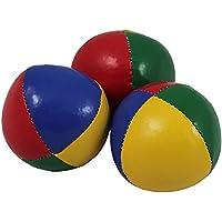 Juggle Dream Pack de 3 x bolas de malabares profesionales (4 colores) (AMPAC-012/BEACH)