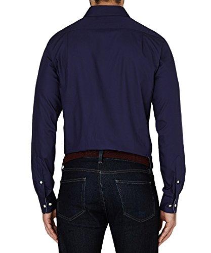 Tommy Hilfiger Big Spiderman s Business Casual Shirt Smart (43/48 cm de tour de poitrine) RRP £ 90 Bleu - Eclipse (Navy)