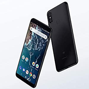 "Xiaomi Mi A2 - Smartphone Dual SIM de 5.99"" (4G, Snapdragon 660 Octa Core, 4 GB de RAM, 64 GB de memoria, camara de 20+12 MP, Android) Negro (EdwayBuy)"