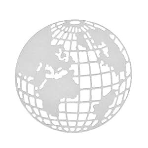 Gemini _ Mall® Earth Globe Coupe matrices de gaufrage Pochoir pour album Scrapbooking papier carte Art Craft