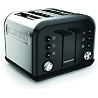 Morphy Richards Accents Special Edition 4 Slice Toaster, Black