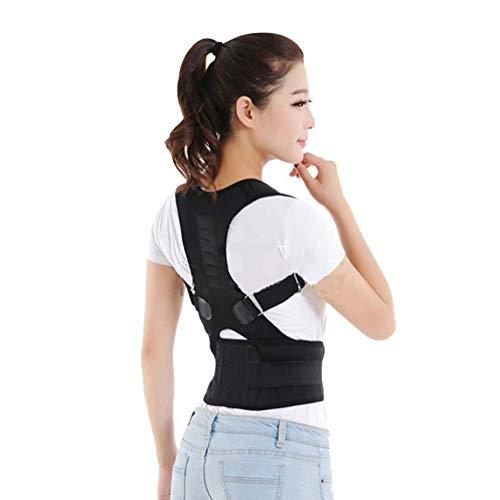 BEIBEIJIA Körperhaltung Korrektor Geradehalter Bessere Rücken Unterstützung Verstellbar Rücken Gürtel Für Damen Herren Für Menschen Mit Rundrücken Für Haltungsbedingte Nacken -
