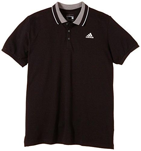 adidas Herren Poloshirt Sport Essentials, schwarz/weiß, M, S12329 -
