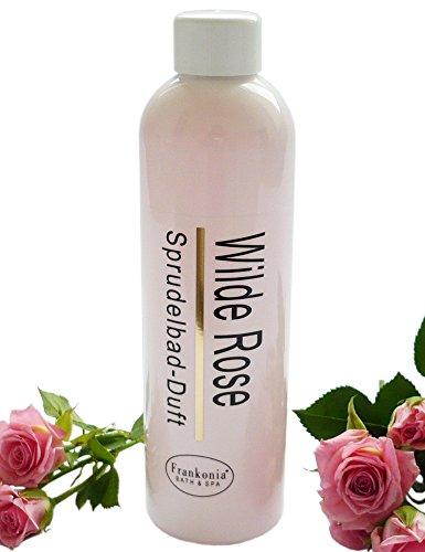 Whirlpool Badezusatz Wilde Rose Sprudelbad-Duft, Whirlpoolduft Konzentrat 230 ml