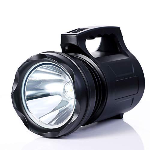 ALFLASH LED Taschenlampe Wiederaufladbare CREE LED Handscheinwerfer 10000Lumens Outdoor Handlampe Extrem Super hell Wasserdicht Handheld Taschenlampen Laternen