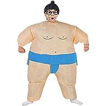 Prettycos- Traje Inflable Disfraz Luchador de Sumo para Niños Halloween