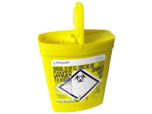 Sharpsafe contenedor à dà © Chets piquants, coupants y perforants 0,3l