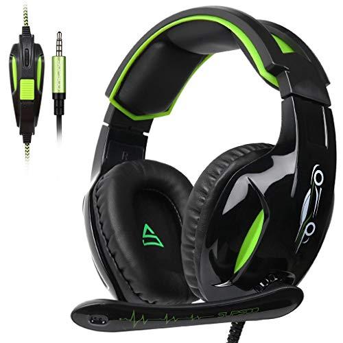 YusellYu_Mädchen Strampler Jumpsuit Yusell  SUPSOO G813 Gaming Headset Gamer über Ohr Kopfhörer mit Mikrofon für PS4