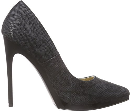 Blink Bremixl, Chaussures à talons - Avant du pieds couvert femme Noir - Noir (01)