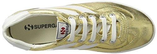 Superga 2832 Cotmetw, Sneaker Basse Unisex - Adulto Oro (Gold (174))