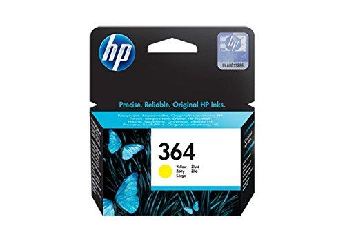 HP 364 - Cartucho de tinta para impresoras (yellow, 300 páginas, yellow, 5 - 80%, -40 - 70 °C, 5 - 50 °C)