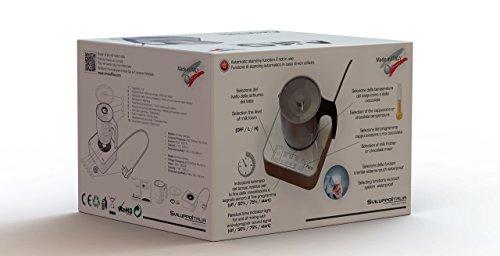 Cappuccinatore, Montalatte elettrico , Macchina Cioccolata, Schiumatore, Scaldaliquidi, Airo, AiroCap Ultimate - 5