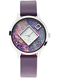 Fastrack x Ananya Panday-Fit Out Analog Multicolor Dial Women's Watch-6210SL02