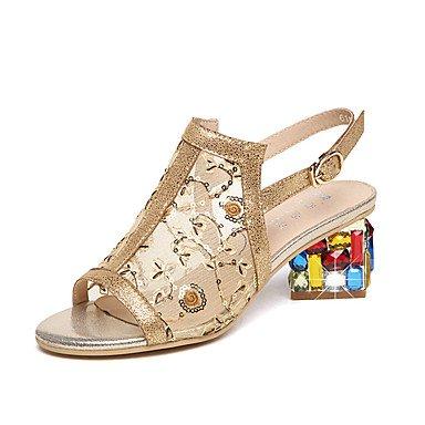Femmes Sandales Talon Bas Anti-Dérapant Chaussures d'été en Plein air Comfort Wedge Talon Sandales pour Dames Maman (Couleur : Marron, Taille : 42)