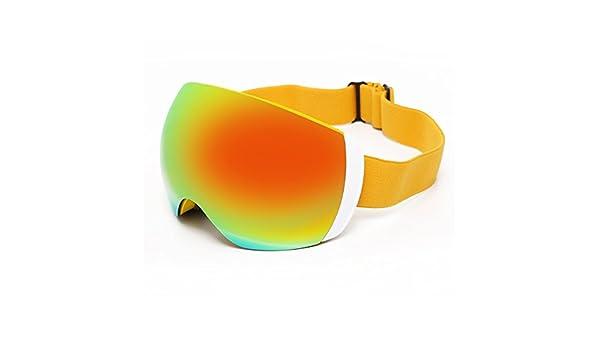 TZQ Doppel Anti Fog Skifahren Gläser Sonnenbrille Staubdicht