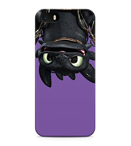 How To Train Your Dragon Toothless Upside Down Hard Plastic Snap On Back Case Cover For iPhone 5 / 5s Custodia