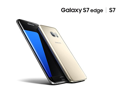 Samsung Galaxy S7 EDGE Smartphone (5,5 Zoll (13,9 cm) Touch-Display, 32GB interner Speicher, Android OS) silber