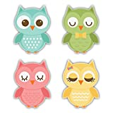 #10: Nourish Owl Family Fridge Magnet