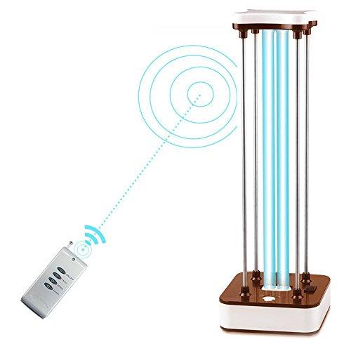 RAIN QUEEN UV-Sterilisator Ozon-Sterilisation Luftreiniger UV-C Lampe Ozon 36 W für Haus Luftreiniger Reiniger Desinfektion Bakterien, Mikroben und Viren (Geeignet für 60 ㎡) (Uv-lampe Ozon)