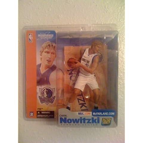 McFarlane Toys NBA Sports Picks Series 2 Action Figure Dirk Nowitzki (Dallas Mavericks) White Jersey Variant by Unknown