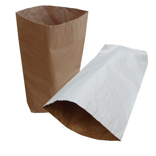 10x Yuzet naturale marrone tan sacco carta a 3veli, 55x 85cm, 32kg