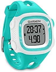 Garmin Forerunner 15 GPS ANT+ Running Watch & Activity Tracker, Small - Teal/White