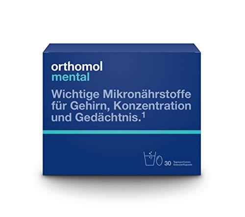 Orthomol mental 30er Granulat & Kapseln -