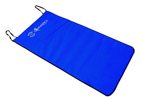 Sure Shot aérobie Tapis antidérapant-Bleu - 1 m x 0,5 m x 20 mm