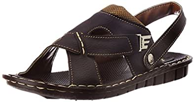 Bata Men's Kripton Sandal Brown Athletic & Outdoor Sandals - 6 UK (8614066)