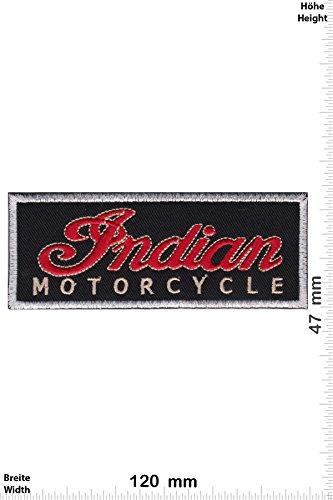 Patch - Indian - Motorcycle - Motorrad - Motorrad - Indian - Aufnäher - zum aufbügeln - Iron On