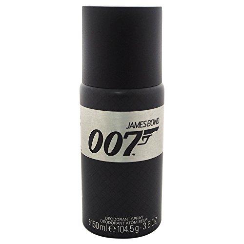 James Bond 007 Deodorant Spray, 150 ml (Grüner Apfel Duft)
