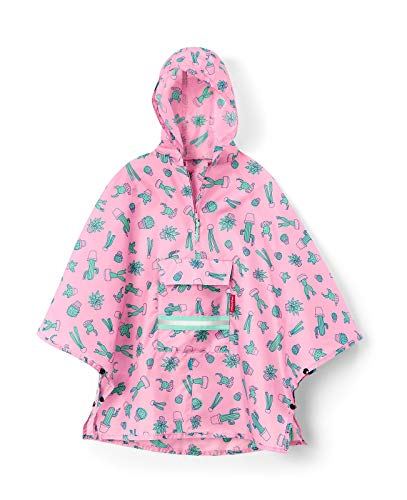 reisenthel mini maxi poncho M kids 93 x 62 x 0 cm cactus pink (Kochen, Kleidung)
