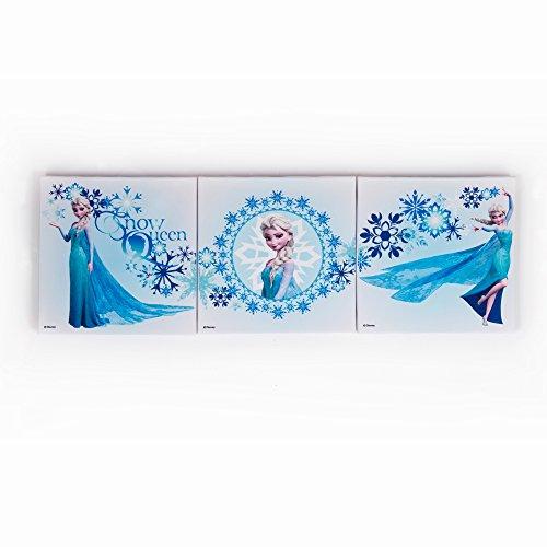 Disney Frozen Elsa Set of 3 Trio Box Art Wall Art 20cm x 20cm