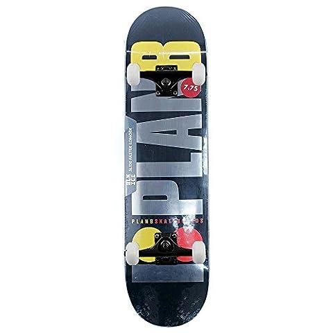 Plan B Skateboards Team OG schwarz Ice komplett Skateboard schwarz 19,7cm