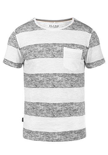 BLEND Vegas 201704667ME T-Shirt, Größe:XL;Farbe:Granite (70147)