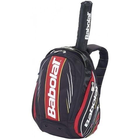 BABOLAT Aero Line Backpack, Black/Red by Babolat