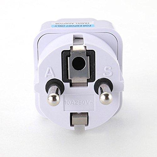 Malloom® Universal UK US AU zu EU AC Steckdose Stecker Reise Ladegerät Adapter Converter
