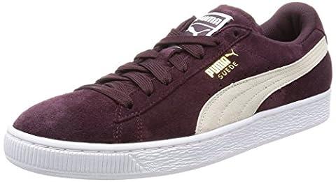Puma Suede Classic, Sneakers Basses Femme, Violet (Winetasting-White), 37 EU