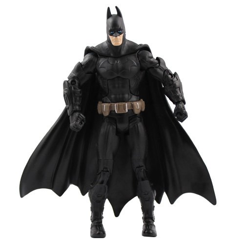 Batman The Dark Knight Rises OFFICIAL 18cm PVC Moveable Figur Black